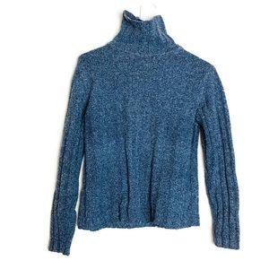 L.L. Bean Wool Blend  Chunky Turtle Neck Sweater
